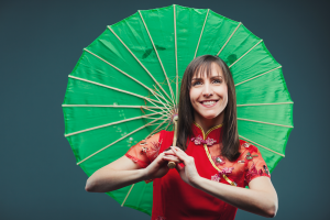 chinese dance, umbrella, najma dance group