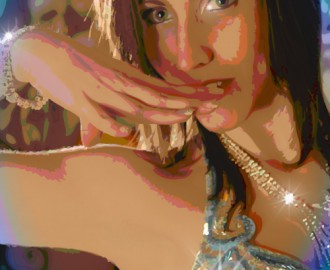 belly dancer, illustration of me
