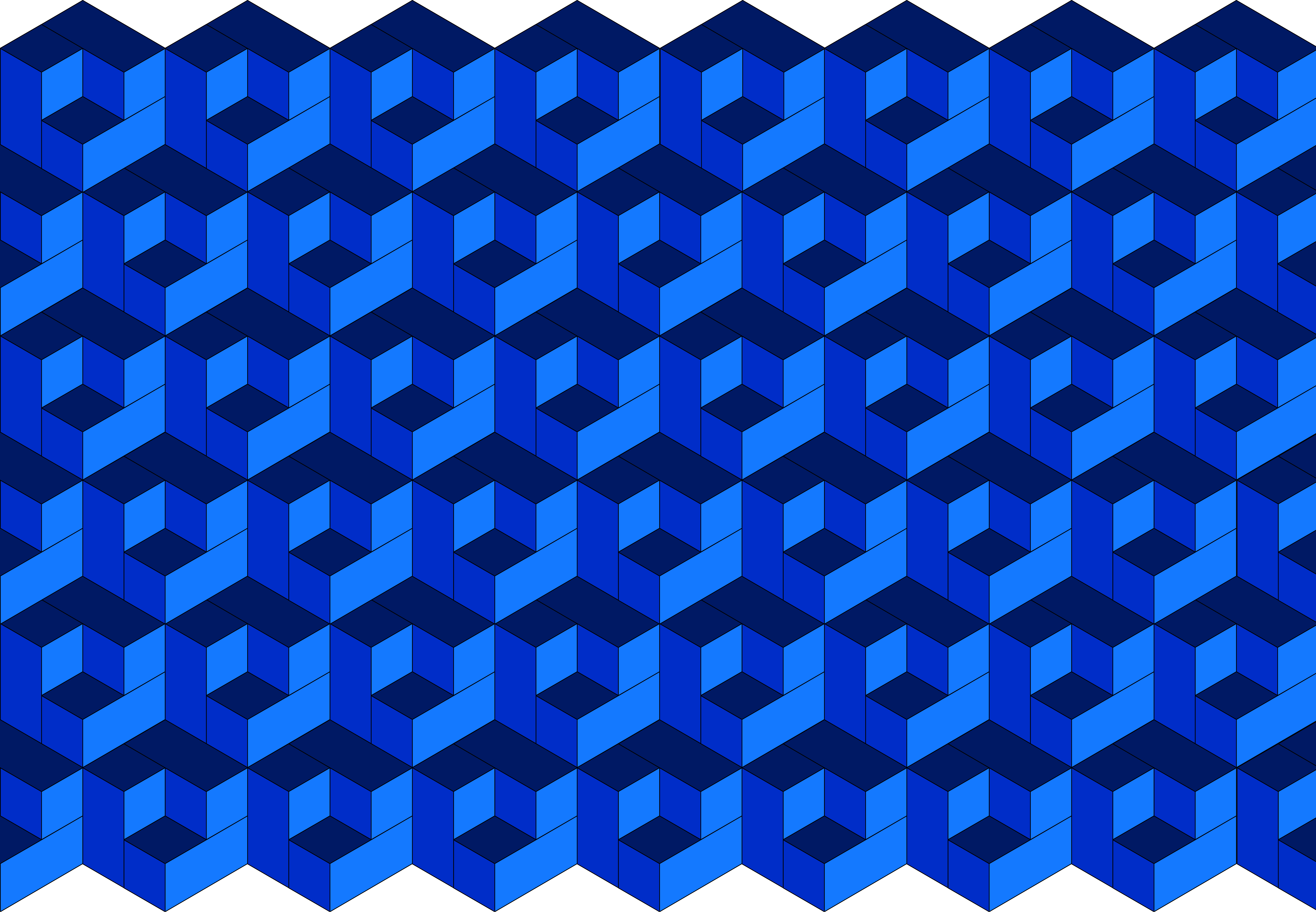 pattern in blue full, illustrator